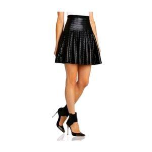 BCBG MAXAZRIA - Vegan Leather Shanina Skirt